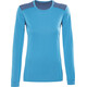 Norrøna Falketind Super Wool Shirt Women Blue Moon